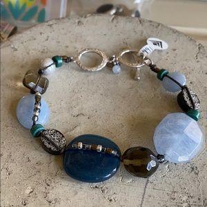 Gorgeous Silpada Blue Stone Bracelet
